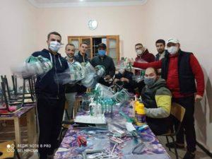 Voluntarios coronavirus Argel